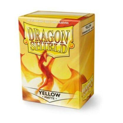 Dragon Shield Matte Yellow