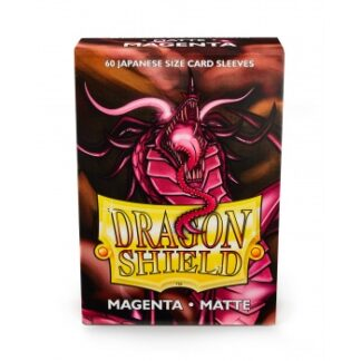 Dragon Shield Japanese Matte Sleeves - Magenta (60 Sleeves)