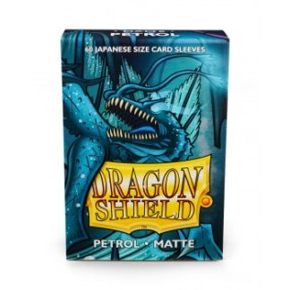 Dragon Shield Japanese Matte Sleeves - Petrol (60 Sleeves)