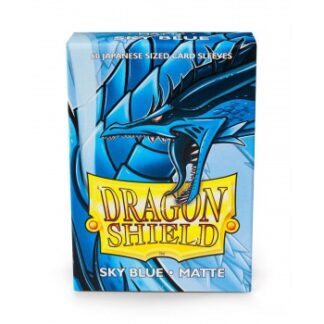 Dragon Shield Small Sleeves - Japanese Matte Sky Blue (60 Sleeves)