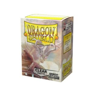 Fundas Dragon Shield Clear Matte estandar