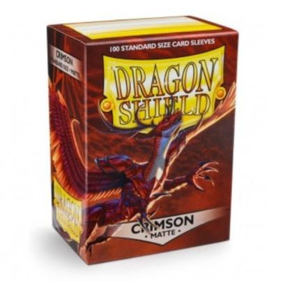 Dragon Shield Matte Crimson