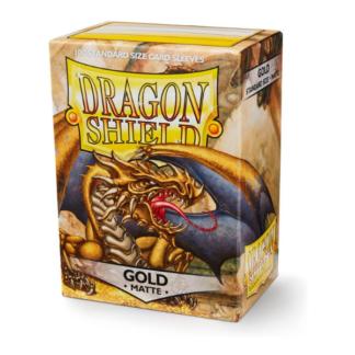 Dragon Shield Matte Gold