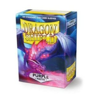 Dragon Shield Matte Purple