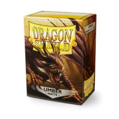 Dragon Shield Matte Umber
