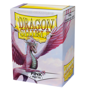 Dragon Shield Matte Pink
