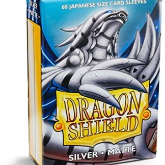 Dragon shield small silver