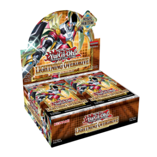 Lightning Overdrive Booster Display (24 sobres) YGO