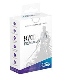 Pack 100 fundas Estándar Ultimate Guard Katana Blanco