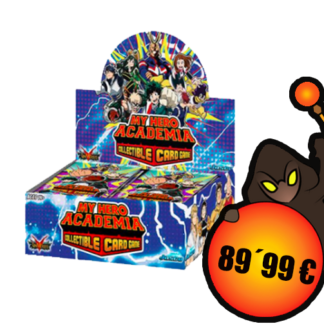 My Hero Academia Collectible Card Game - Booster Display