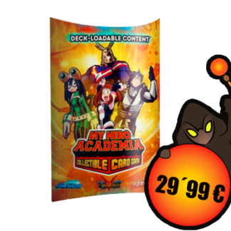 My Hero Academia Collectible Card Game - Deck-Loadable Content Wave 1 WEB