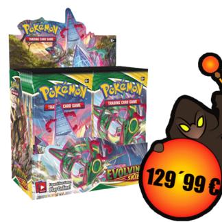 Pokemon – SS7 Booster Box Evolving skies WEB
