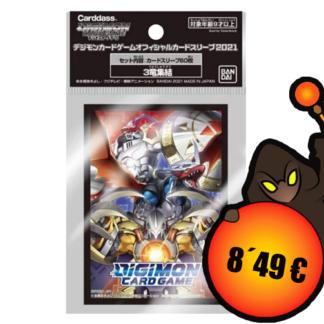 DIGIMON SLEEVES 3 Ryu Shuuketsu