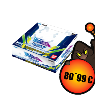 Digimon Card Game - Next Adventure Booster Display BT07