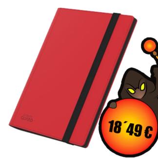 Ultimate Guard Flexxfolio 360 - 18-Pocket XenoSkin Rojo